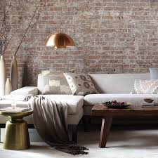 Exposed Brick Wall by Stunning Exposed Brick Interior Walls Design For Living Room With