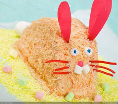 easter bunny cake ideas easter pink easy bunny cake recipe