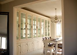 Built In Cabinets Nice Dining Room Built In Cabinets And Carrara Marble Tops Built