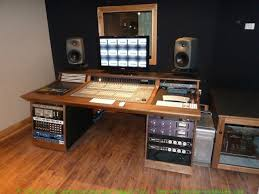 Creation Station Studio Desk Recording Studio Furniture Gallery Custom Mixing Desks By Sound