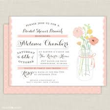 wedding shower brunch invitations bridal shower breakfast invitation wording 28 images best 25