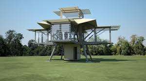 Pop Up House Usa The Prefab Home That Builds Itself In Minutes Cnn Style