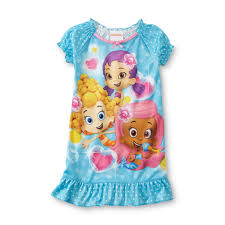 nickelodeon bubble guppies infant u0026 toddler u0027s nightgown