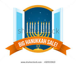 hanukkah candles for sale menora menorah burning candles usually used stock vector 337925987