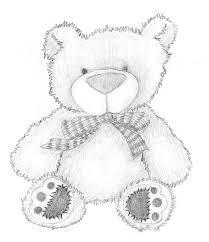 easy cute bear drawing
