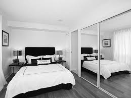 contemporary black gray and white master bedroom a grayscale