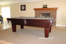 placing a pool table on a rug dk billiards u0026 service orange