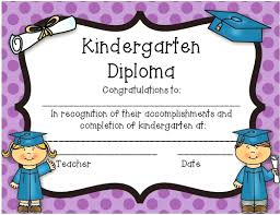 preschool graduation certificate template preschool graduation certificate template