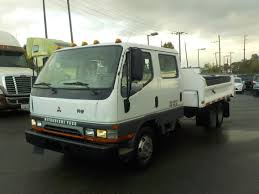 mitsubishi fuso dump truck 2003 mitsubishi fuso fe640 crew cab dump truck dually diesel