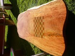 chess board coffee table slab timber chessboard coffee table queensland