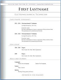 new resume format free sle resume format chronological resume template sle
