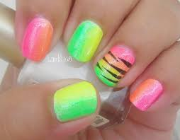 26 impactful nail art designs with neon colors u2013 slybury com