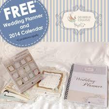 Wedding Planner Calendar Free 2014 Calendar And Wedding Planner Devereux Creative Wedding