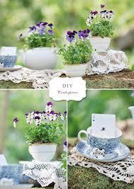 Diy Centerpieces Diy Flower And Teacup Centerpieces Andrea Dozier Dayton Wedding