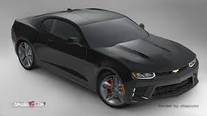 newest camaro 2016 chevrolet camaro edges closer to in newest rendering
