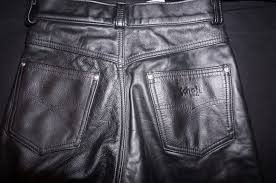 motorcycle riding pants schott men u0027s black leather motorcycle riding pants sz 28 x 32 made