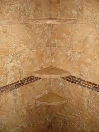 marble shampoo shelves in new tile shower new jersey custom tile