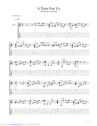 themes of youth in romeo and juliet a time for us theme from romeo and juliet guitar pro tab by nino