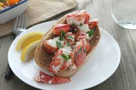 Recipe Lobster Roll by Lobster Rolls With Corn Tomato Mozzarella And Basil Salad