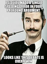 Gentleman Meme - ladies and gentleman i give you arguing online meme guy