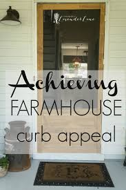 farmhouses front yard landscaping ideas achieving farmhouse curb appeal