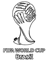 Fifa World Cup Brasil Soccer Coloring Pages Boys Coloring Pages Cup Coloring Page