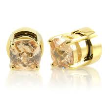 magnetic earrings kindle s goldtone chagne cz non pierced magnetic earrings