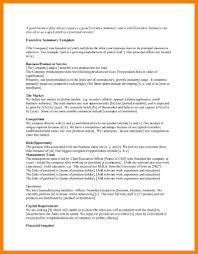 summary document template
