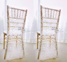 white chair covers charming white lace wedding chair covers custom made groom and