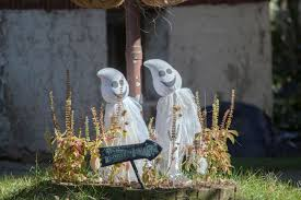 garden decoration ideas homemade regaling how to make halloween tombstones easy crafts also