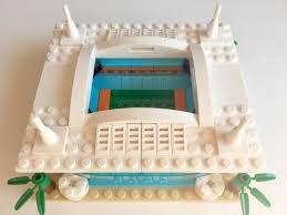 mini miami dolphins hard rock stadium custom brick set with