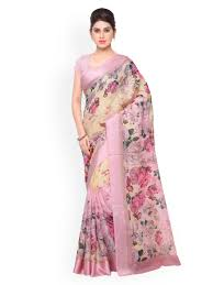 Buy Violet Embroidered Art Silk Silk Saree Buy Traditional Silk Sarees Online At Myntra