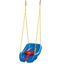 Toddler Patio Chair 2 In 1 Snug U0027n Secure Swing Blue At Little Tikes