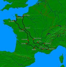 Tour De France Map by Tour De France