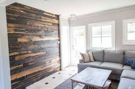 Wooden Wall Coverings by 50 50 Speckled Black Wood Wall Covering Porter Barn Wood