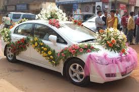 indian wedding car decoration wedding car decoration 49 flower n petals