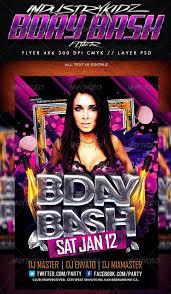 doc 500731 birthday flyers template u2013 top 20 best birthday party