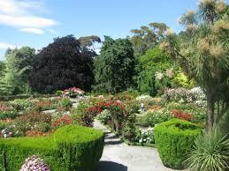 New Zealand Botanical Gardens Central Garden Hagley Park Christchurch The New Zealand