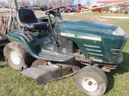 dark green craftsman lt1000 lawn u0026 garden tractor tractors