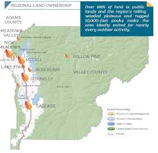 Cascade Mountains Map Logan Simpson West Central Mountains Economic Development