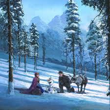 cold winter s day disney