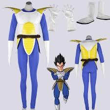Dragon Ball Halloween Costumes Dragon Ball Cosplay Vegeta Cosplay Costume Ver 1 Battle Armor