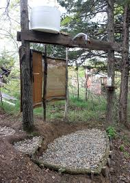 Simple Outdoor Showers - diy outdoor solar shower part 45 diy outdoor shower attached to