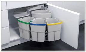 Kitchen Trash Can Ideas Kitchen Trash Can Cabinet Plans Kitchen Set Home Decorating