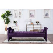 Overstock Sofa Bed Eliza Upholstered Sofa Bed Free Shipping Today