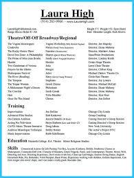 Acting Resume Sample Beginner Beginners Acting Resume Sample Actor Resume Resume Cv Cover