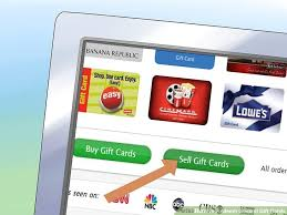 sell gift cards online electronically 4 ways to redeem gift cards wikihow