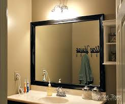 bathroom mirror with shelf attached frames home depot large