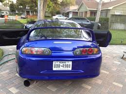 custom toyota supra twin turbo toyota supra original royal saphire pearl color 6 speed