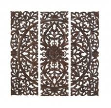 carved wood wall decor makipera with amazing wood medallion wall